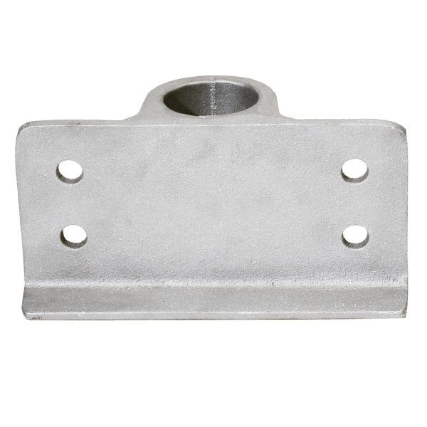 2″ (2-3/8) Pipe Side Bracket (PLD002) Back View