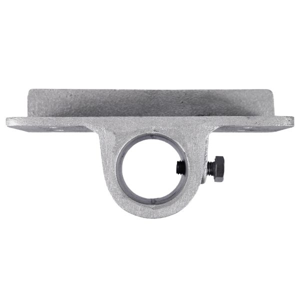 2″ (2-3/8) Pipe Side Bracket (PLD002) Top View