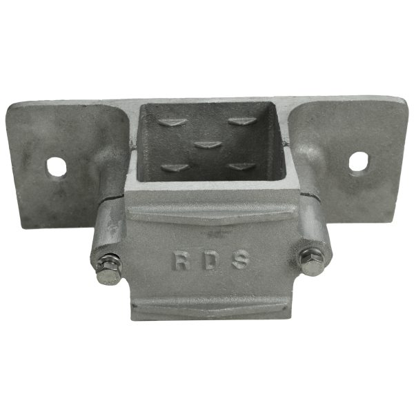 4 x 4 Wood Side Bracket (WLD020) Front View
