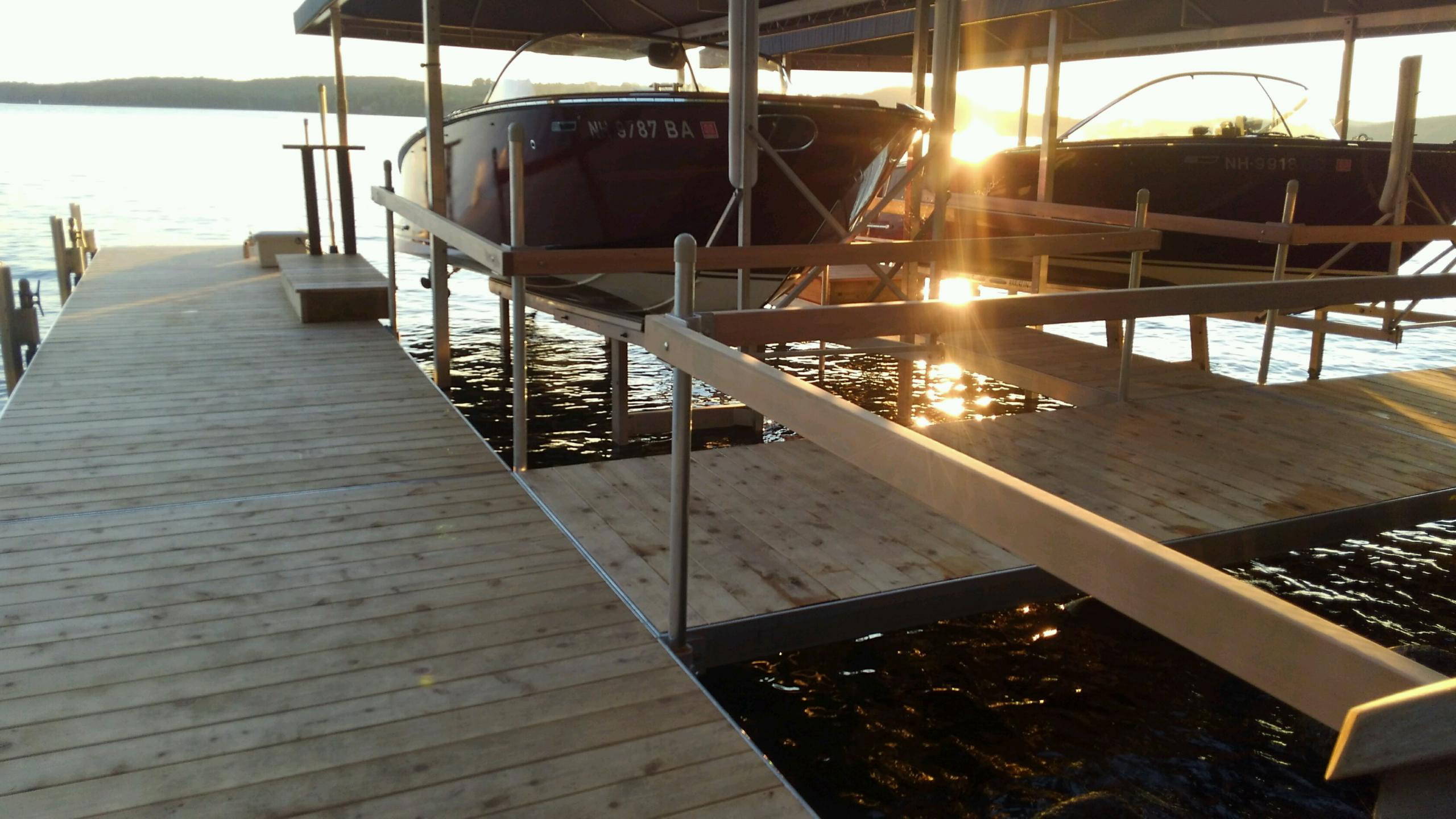 RDS Custom Dock Boat Slip