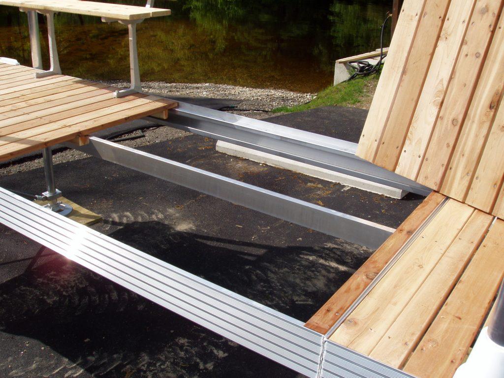 Aluminum Dock Frame and Decking