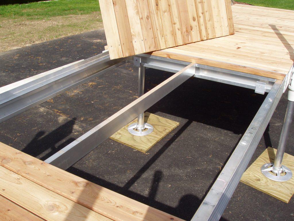 Dock Decking Installation