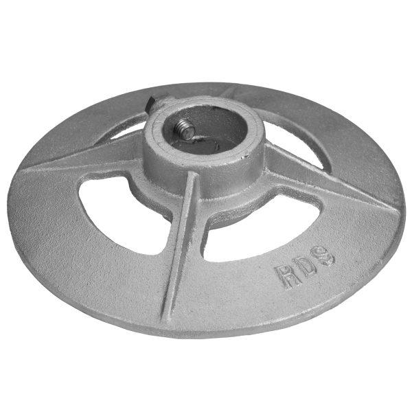 2″ (2-3/8) Pipe Base (10 Diameter) (PLD006) Main View